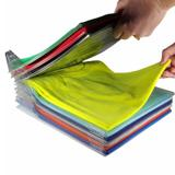 Kit 5 Camadas Organizador Roupas Camisas e Camisetas Tipo Arquivo - Thata esportes