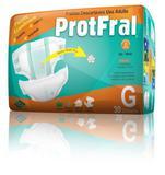Kit 5 Pct Fralda Geriatrica Protfral Econom. G - 150 Unds