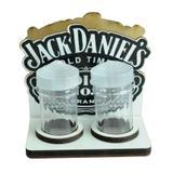 Kit 5 Porta Guardanapo Com Saleiro e Paliteiro Jack Daniels Laser Mdf Madeira Adesivado - Atacadão do artesanato mdf