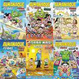Kit 6 Ed. Almanaque Grande Turma Da Mônica E Passa Tempos - Panini comics