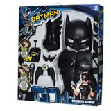 Kit acessórios batman - dc comics com som 9504 rosita - Novabrink