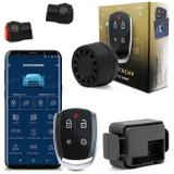 Kit Alarme Automotivo Carro Pósitron Cyber PX360BT Universal + Chave Canivete PX80 Controle Alarme - Positron