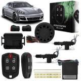 Kit Alarme Automotivo Pósitron Cyber EX360 Universal + Trava Elétrica 2 Portas Dupla Serventia - Positron