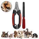 Kit alicate tesoura para unha + lixa de unha pet cão e gato - Werster