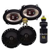 """Kit Alto-falante Bravox Cx60bk 6"""" + B3x68x 6x8"""" 230W Rms + PRESENTE"""