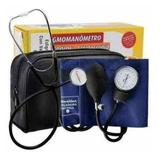 Kit Aparelho De Pressão Esfigmomanômetro + Estetoscópio - Premium