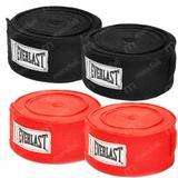 Kit Bandagem pro Style 4,60 M 2 Vermelhas + 2 Pretas Everlast