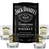 Kit Bandeja (P) + 4 Copos Jack Daniels Honey Mel 290ml Whisky - Decore fácil shop