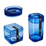 Kit Banheiro 3 Peças Azul - Coza - Brinox