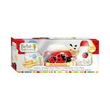 Kit bebê natureza suave joaninha - sh + cond + saboneteira + sab - Biotropic