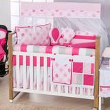 Kit Berço Americano 10 pçs Balão Pink - I9 baby