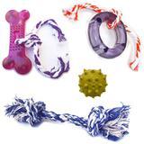 Kit Brinquedos Para Cachorro 04 Brinquedo Mordedor Para Cães - Rb pet