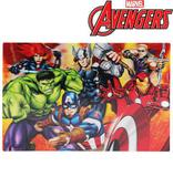 Kit c/ 2 Jogo Americano p/ Mesa Avengers 3D Marvel Os Vingadores - 133881 - Etilux