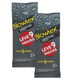 Kit C/ 2 Pacote Preservativo Blowtex Lubrificante L9 P3
