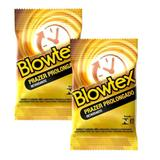 Kit c/ 2 Pacotes Preservativo Blowtex Retardante c/ 3 Un Cada