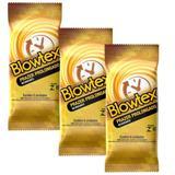 Kit c/ 3 Pacotes Preservativo Blowtex Retardante c/ 6 Un Cada