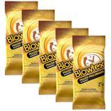 Kit c/ 5 Pacotes Preservativo Blowtex Retardante c/ 6 Un Cada