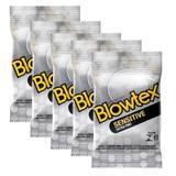 Kit c/ 5 Pacotes Preservativo Blowtex Sensitive c/ 3 Un cada