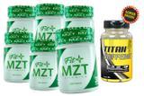 KIT C/ 6 FIT+ MZT Slimming 30 Cápsulas + Brinde Titan Caffeine - Pandora