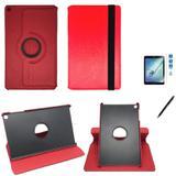Kit Capa 360 Galaxy Tab A T510/T515 10.1 Can e Pel Vermelho - Bd cases