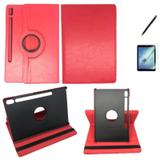 Kit Capa 360 Galaxy Tab S6 SM T860/T865 10.5 Can, Pel Vermel - Bd cases