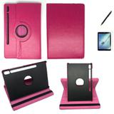 Kit Capa/Can/Pel Galaxy Tab S6 T860/T865 10.5 Rosa - Bd cases