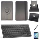 Kit Capa/Can/Pel/Teclado 360 Galaxy Tab S5e SM T725 10.5 Preto - Bd cases