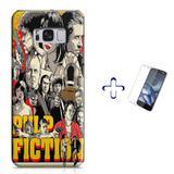 Kit Capa Case TPU Galaxy S8 Pulp Fiction + Película de Vidro (BD01) - Bd cases