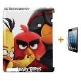 Kit Capa Case TPU iPad 2/3/4 Angry Birds + Película de Vidro (BD01) - Skin t18