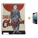 Kit Capa Case TPU iPad 2/3/4 Charlie Chaplin (BD01) - Bd cases