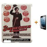 Kit Capa Case TPU iPad 2/3/4 Charlie Chaplin (BD02) - Skin t18