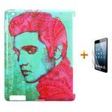 Kit Capa Case TPU iPad 2/3/4 Elvis Presley + Película de Vidro (BD01) - Skin t18