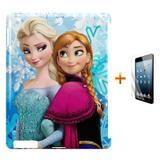 Kit Capa Case TPU iPad 2/3/4 Frozen + Película de Vidro (BD01) - Skin t18
