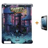 Kit Capa Case TPU iPad 2/3/4 Gravity Falls (BD02) - Skin t18