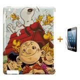 Kit Capa Case TPU iPad 2/3/4 Snoopy + Película de Vidro (BD01) - Skin t18