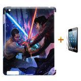 Kit Capa Case TPU iPad 2/3/4 Star Wars + Película de Vidro (BD01) - Skin t18