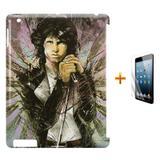 Kit Capa Case TPU iPad 2/3/4 The Doors + Película de Vidro (BD01) - Skin t18