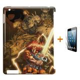 Kit Capa Case TPU iPad 2/3/4 Thundercats + Película de Vidro (BD01) - Skin t18