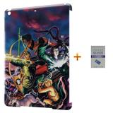 Kit Capa Case TPU iPad Air 2 (iPad 6) Caverna do Dragão + Película de Vidro (BD01) - Skin t18