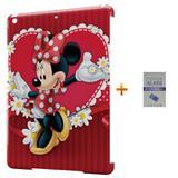 Kit Capa Case TPU iPad Air 2 (iPad 6) Minnie + Película de Vidro (BD01) - Bd cases