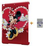 Kit Capa Case TPU iPad Air 2 (iPad 6) Minnie + Película de Vidro (BD01) - Skin t18