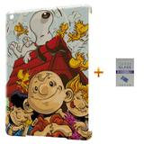 Kit Capa Case TPU iPad Air 2 (iPad 6) Snoopy + Película de Vidro (BD01) - Bd cases