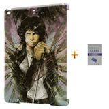 Kit Capa Case TPU iPad Air 2 (iPad 6) The Doors + Película de Vidro  (BD01) - Skin t18