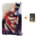 Kit Capa Case TPU iPad Mini 2/3 Coringa + Película de Vidro (BD03) - Skin t18