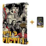 Kit Capa Case TPU iPad Mini 2/3 Pulp Fiction + Película de Vidro (BD01) - Skin t18