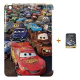 Kit Capa Case TPU iPad Mini 4 Carros + Película de Vidro (BD01) - Bd cases