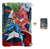 Kit Capa Case TPU iPad Mini 4 Homem Aranha + Película de Vidro (BD01) - Skin t18