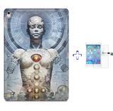 "Kit Capa Case TPU iPad Pro 9,7"" - Android + Película de Vidro (BD01) - Skin t18"