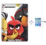 "Kit Capa Case TPU iPad Pro 9,7"" - Angry Birds + Película de Vidro (BD01) - Skin t18"
