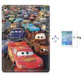 "Kit Capa Case TPU iPad Pro 9,7"" - Carros + Película de Vidro (BD01) - Skin t18"